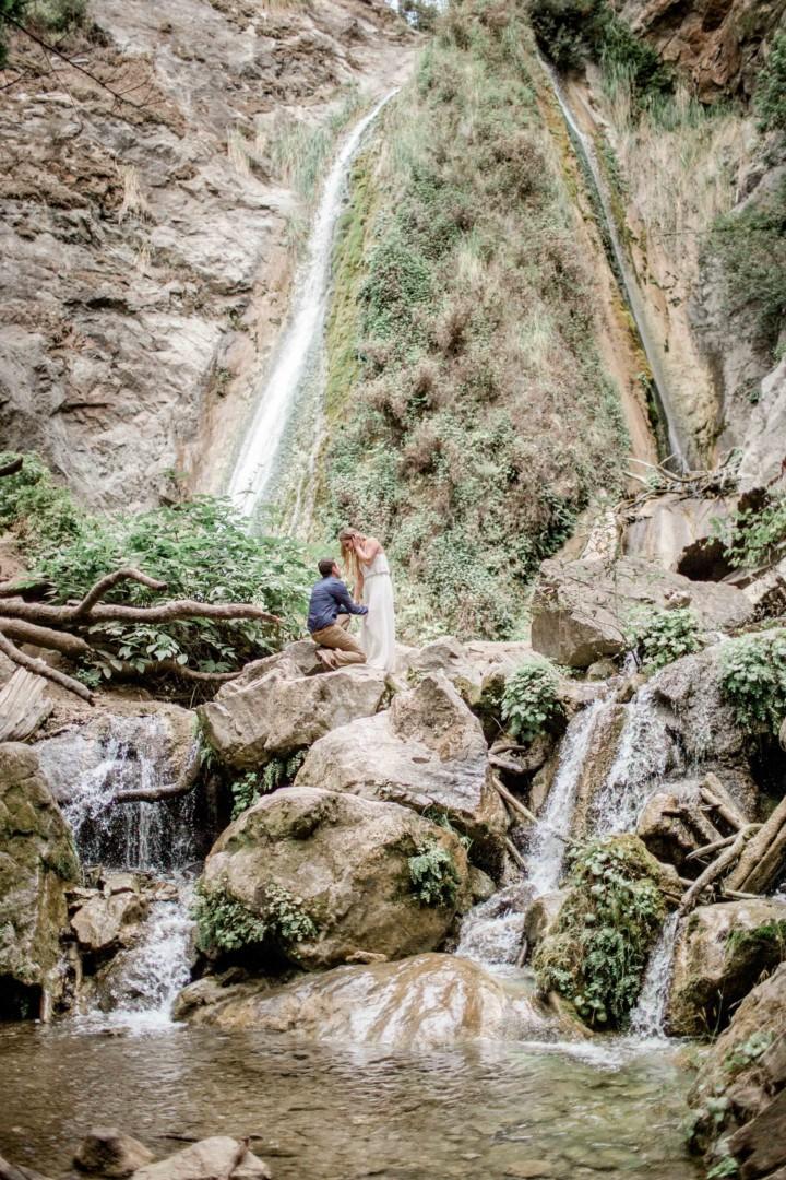 Katie + Devin | Limekiln Big Sur Proposal