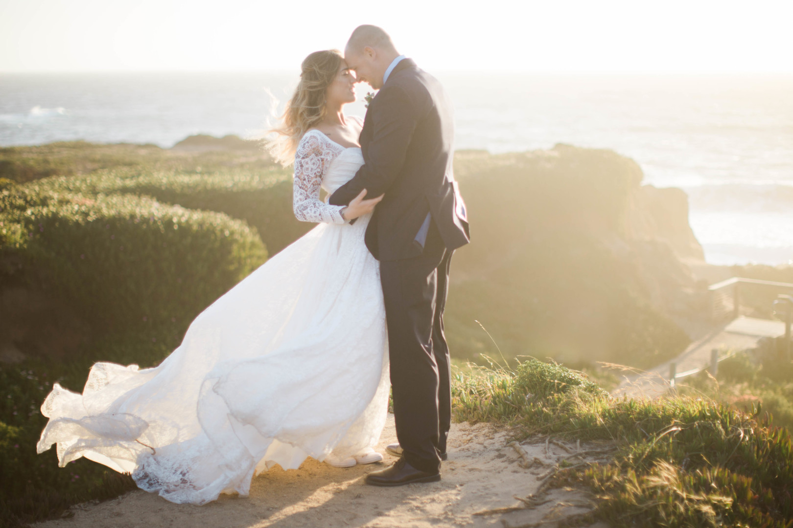 Alina + Joel | Intimate Glen Oaks Big Sur Elopement