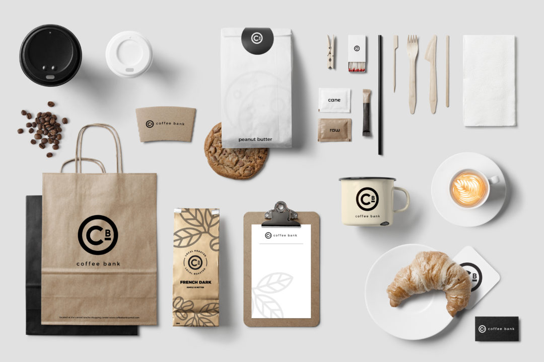 Coffee Bank: Brand Identity