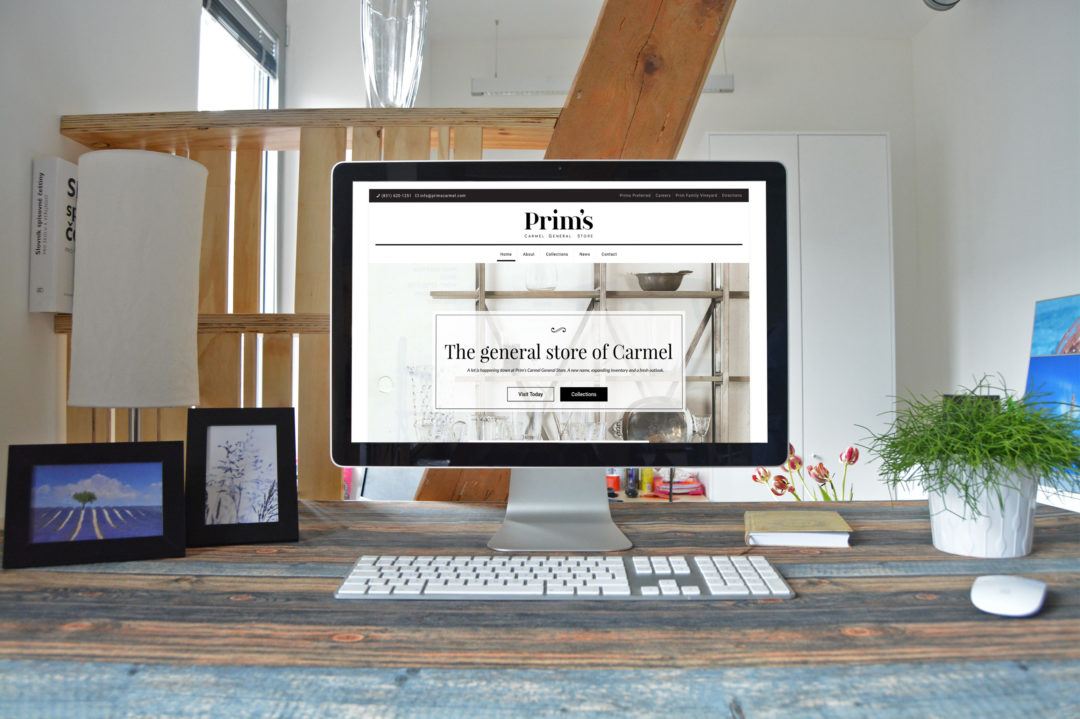 Prim's: Website Development