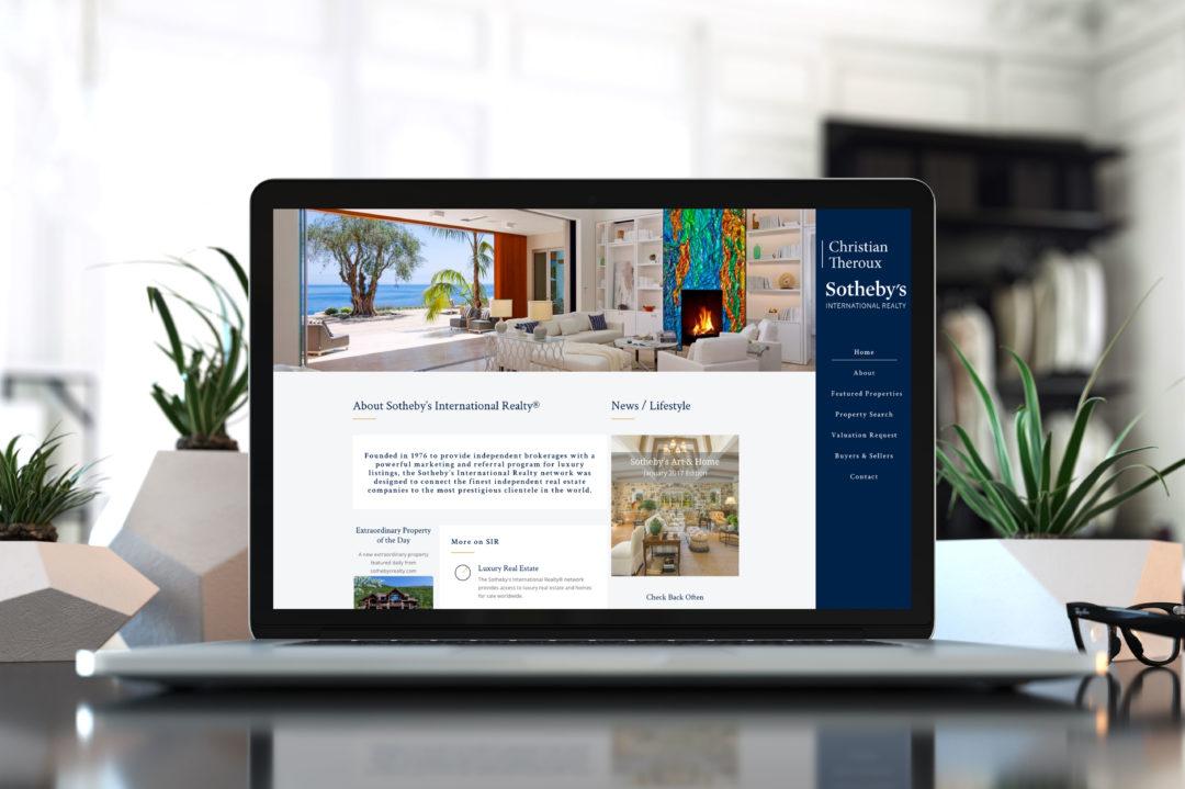 Sotheby's Christian Theroux: Realtor API Integration